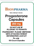 Progesterone Caps 200mg #100