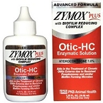 Zymox Plus Otic w/1% Hydrocortisone 1.25oz