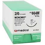 Monomid Suture 2/0 NFS 30