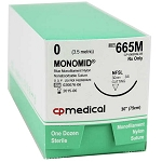 Monomid Suture 0 NFSL 30