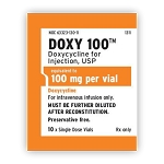 Doxycycline 100mg 20mL Vial
