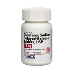 Diclofenac Sodium Delayed Release 75mg #100