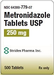 Metronidazole Tabs 250mg #500 (exp 12/31/18)
