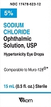Sodium Chloride Opth Sol 5% 15mL