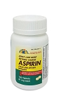 Adult Low Dose Enteric Coated Aspirin Tabs 81mg #120