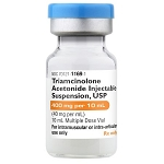 Triamcinolone Acetonide Injectable Suspension 40mg/mL 10mL MDV