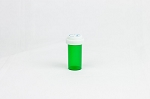 Reversible Vial (Green) 13 Dram 275/case