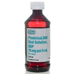 Prednisolone Syrup 15mg/5mL 240mL