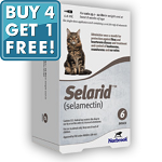 Selarid for Cats: Taupe (15 - 22lbs) 6 Doses