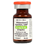 Midazolam Injection 5mg/mL 10mL Vial