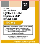 Cyclosporine Caps 100mg #30