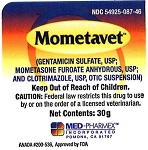 Mometavet Otic Suspension 30gm (exp 06/30/18)