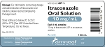 Itraconazole Oral Solution 10mg/mL 150mL