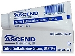 Silver Sulfadiazine Cream 1% 50gm Tube