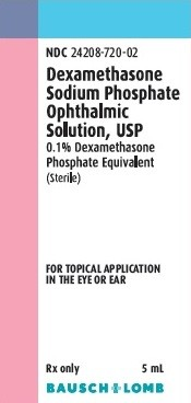 Dexamethasone Sodium Phosphate Ophthalmic Solution 0.1% 5mL