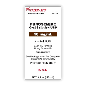 Furosemide Oral Solution 10mg/mL 60mL
