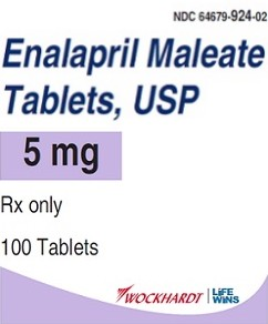 Enalapril Maleate Tabs 5mg #100