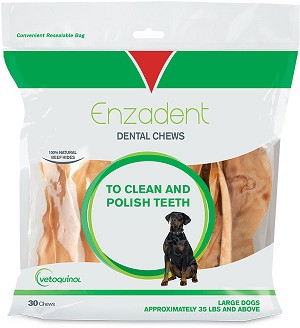 Enzadent Oral Care Chews Large #30