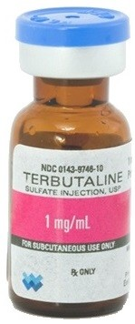 Terbutaline 1mg/mL 10/pack