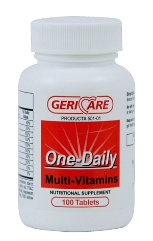 One Daily Multi-Vitamin Tabs #100