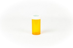 Push & Turn Vial (Amber) 16 Dram 270/case