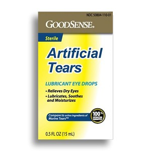 Artificial Tears Ophthalmic Solution 15mL