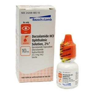 Dorzolamide HCl Ophthalmic Solution 2% 10mL