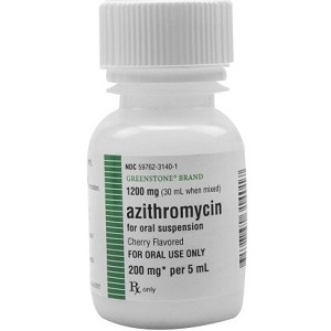 Azithromycin Susp 200mg/5mL 30mL